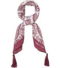 rebecca minkoff paisley tassel bandana scarf