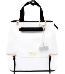 mochila  blanco  gacel