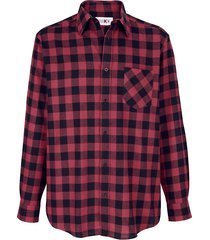 skjorta roger kent röd::svart