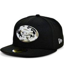 new era san francisco 49ers basic fashion 59fifty cap