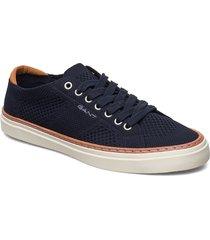 prepville low lace shoes låga sneakers svart gant