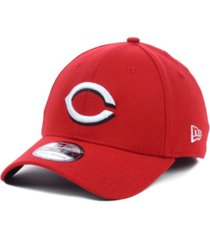 new era cincinnati reds mlb team classic 39thirty stretch-fitted cap