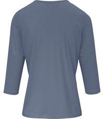 shirt 3/4-mouwen van peter hahn blauw
