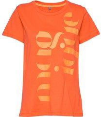 dhrio magique tee t-shirts & tops short-sleeved orange denim hunter