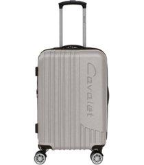 "cavalet malibu 20"" hardside expandable lightweight spinner carry-on luggage"