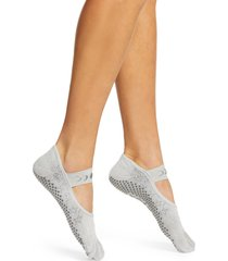 women's toesox mia full toe gripper socks