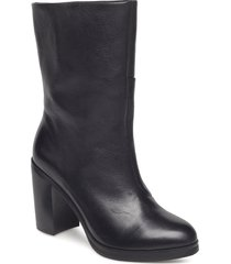 bridge hi boot shoes boots ankle boots ankle boots with heel svart royal republiq