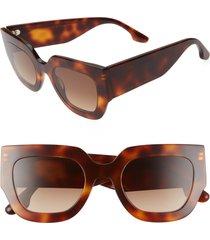 women's victoria beckham 49mm square sunglasses -