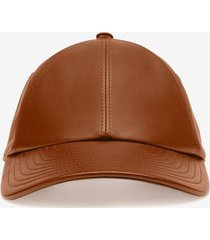 leather cap brown 60