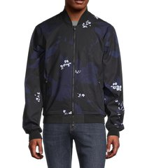 greyson men's arawalk floral bomber jacket - twilight - size m