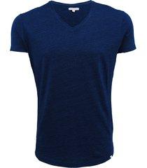 bobby ob-v denim tailored fit v-neck t-shirt