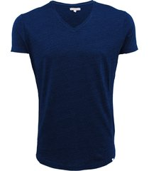 ob-v denim tailored fit v-neck t-shirt
