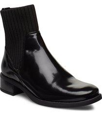 ellen_sgl shoes boots ankle boots ankle boots flat heel svart unisa