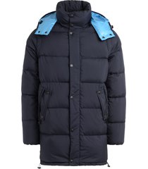 kenzo golden bamboo blue down jacket