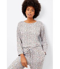 loft pajama top