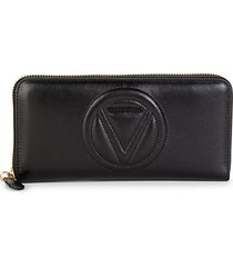 sofia sauvage leather continental wallet