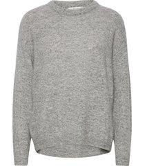 debbiegz pullover gebreide trui grijs gestuz