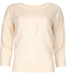 basic sweater annemone  naturel