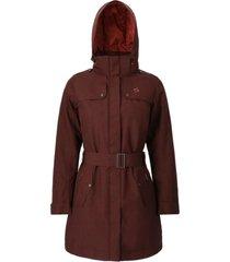 abrigo mujer aurora morado doite