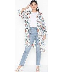 object collectors item objamber long 3/4 kimono 102 blusar & skjortor