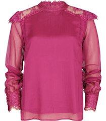 harper & yve blouse fuchsia x607
