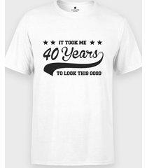 koszulka it took me x years to look that good + twój wiek