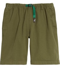 men's gramicci g-shorts cargo shorts, size small - green (nordstrom exclusive)
