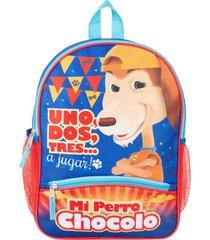 """mochila bts 14 multicolor perro chocolo"""""""