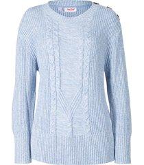 maglione a trecce (bianco) - john baner jeanswear