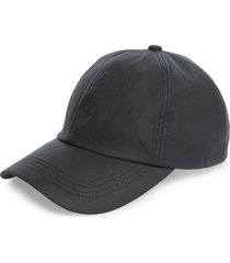 barbour waxed cotton baseball cap in navy at nordstrom