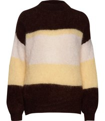 albert sweater awn stickad tröja multi/mönstrad iben