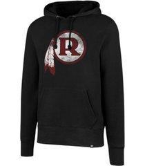 '47 brand men's washington redskins retro knockaround hoodie