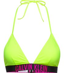 fixed triangle-rp-n bikinitop gul calvin klein