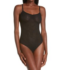 luelle billy thong bodysuit, size large in black at nordstrom