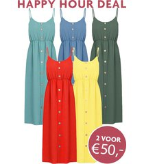 happy hour deal santorini jurken