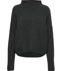 mika yak funnelneck sweater turtleneck coltrui zwart filippa k