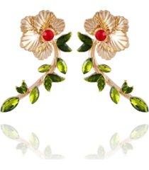 nanette lepore winter garden drop earrings