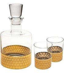 karafka do whiskey i 2 szklanki sahara