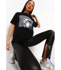 gelicenseerd aladdin t-shirt, black