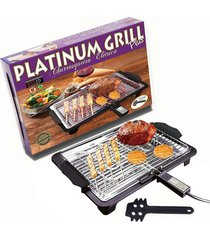 churrasqueira elétrica anurb platinum grill plus - 127v