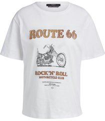 rock en roll t-shirt bo  naturel