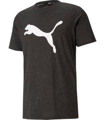tränings-t-shirt train fav heather cat ss