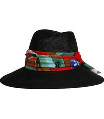 maison michel kate red work hat