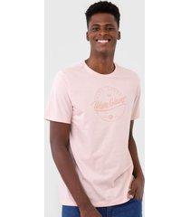 camiseta wg high tides rosa - rosa - masculino - dafiti