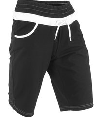 shorts in felpa livello 1 (nero) - bpc bonprix collection