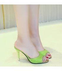 sandalias de mujer nuevas sandalias coreanas de boca de pescado para mujer