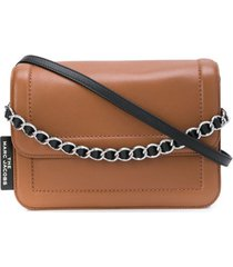 marc jacobs bolsa tiracolo cushion - marrom