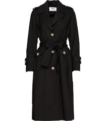 eve trenchcoat trench coat rock svart twist & tango