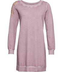 abito in felpa con ricami (rosa) - rainbow