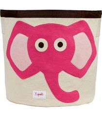 organizador redondo 3 sprouts elefante rosa